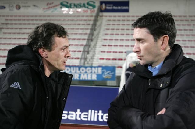 Ligue 2, 22ème journée  : Philippe Montanier et Yvon Pouliquen