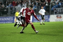 Ligue 2, 31ème journée  : Cédric Barbosa balle au pied