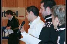 FC Metz Walygator Tour 2010 Etape de Kehlen  : Mario MUTSCH adresse quelques mots aux jeunes joueurs