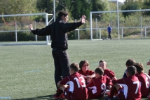 Amical : U13 : FC Metz / Troyes  : Christophe WALTER et son équipe