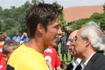 Les U13 à la Finale de la Coupe Nationale U13 à Capbreton  : Christophe WALTER, coach des messins