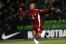 FC Metz - Amiens SC, 15e journée de Ligue 2  : La joie de Mahamane Traore après le superbe but qu\'il a marqué.