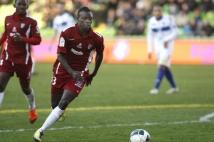 Metz - Bastia, 19e journée de Ligue 2  : Le jeune Sadio Mane, entré en jeu à la 75e minute de jeu, disputait le premier match de Ligue 2 de sa carrière face au SC Bastia.