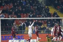 Metz - Sedan, 21e journée de Ligue 2  : Le premier but de la partie a été inscrit par Nicolas Fauvergue.