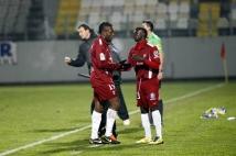 Metz - Sedan, 21e journée de Ligue 2  : Sadio Mané a remplacé Bruce Abdoulaye en cours de jeu.