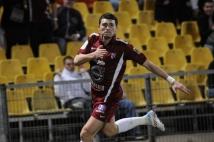 Metz - Troyes  : Mathieu Duhamel aime le FC Metz, qui le lui rend bien! Ici après l\'ouverture du score.