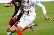 Metz-Boulogne  : Hamadi Ayari a connu une nouvelle titularisation sur le côté droit de la défense. Il est resté au contact de son adversaire!