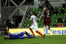 Metz-Boulogne  : Andy Delort a inscrit l\'unique but de la partie... et libéré tout le FC Metz!