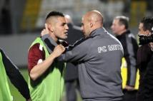 Metz-Boulogne  : Le buteur Andy Delort, félicité par Ludovic Guerriero