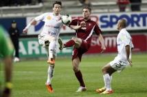 Amiens SC - FC Metz, 31° journée de Ligue 2   : Pierre Bouby était de nouveau positionné en milieu récupérateur.