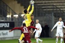 Amiens SC - FC Metz, 31° journée de Ligue 2   : L\'ancien Messin Romain Ruffier a sauvé les siens à plusieurs reprises.