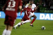 Metz-Guingamp, 36° journée de Ligue 2  : Thierry Steimetz place une accélération bien sentie.