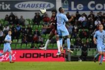 Metz-Tours, 38° journée de Ligue 2  : Alhassane Keita à la lutte avec Francis N\'Ganga