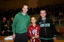 FC Metz Walygator Tour 2013 : étape de Mondorf les Bains  : Récompense remise par Jeff Strasser