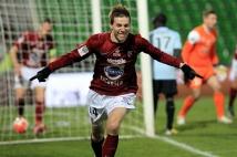 Metz - Caen, 23° journée  : Gaetan Bussmann ouvre la marque pour les Grenats !