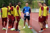Reprise de l'entraînement   : Diafra Sakho, Gaetan Bussmann et leurs coéquipiers se préparent à courir de nombreux kilomètres pour la reprise !