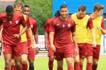 Amnéville-Metz, match amical   : Juan Manuel Falcon sous ses nouvelles couleurs