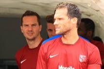 Amnéville-Metz, match amical   : Sylvain Marchal