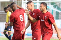 Sochaux - Metz, match amical  : Jérémy Choplin et Juan Manuel Falcon