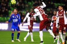 Metz - Nice, 23ème journée de Ligue 1  : La tête de Guirane N\'Daw