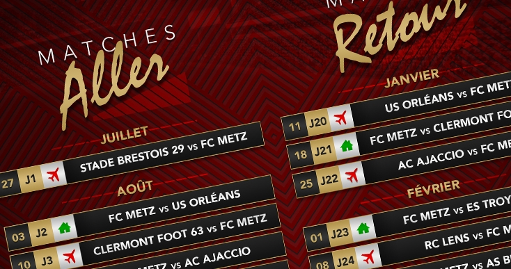 Calendrier Clermont Foot.Le Calendrier Des Grenats Passe Au Crible Football Club