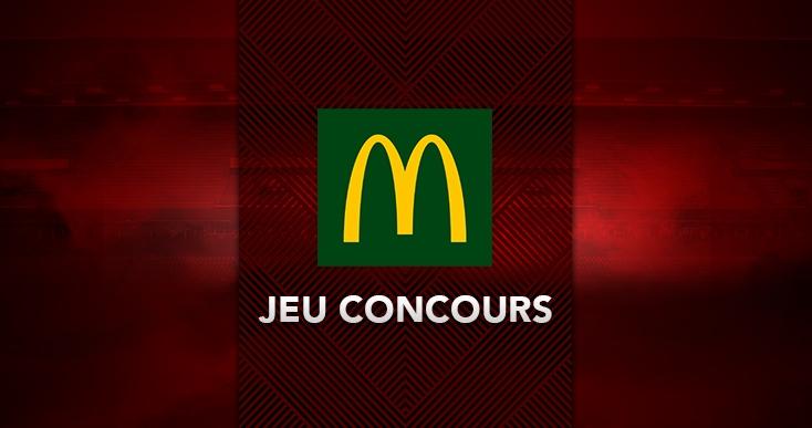 Jeu-Concours chez McDonald's