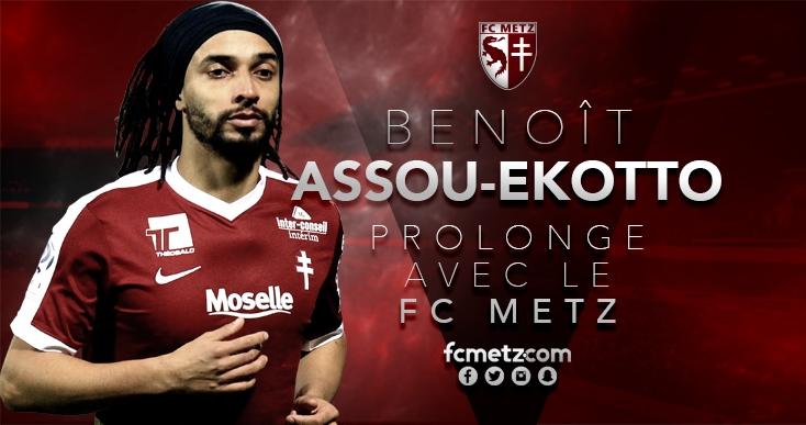 Mercato : Assou-Ekotto prolonge avec Metz