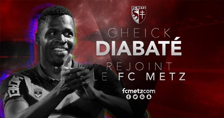 Diabaté, l'homme providentiel du FC Metz